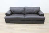 Dark Brown Reception Sofa - Thumb 4