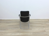 Black Leather Meeting Chairs - Thumb 5