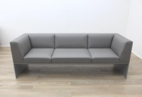 Brunner Grey Leather Sofa - Thumb 4