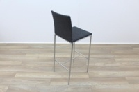 Brunner Grey Fabric Stool - Thumb 7