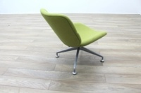 Orangebox Track Green Fabric Office Reception Tub Chairs - Thumb 7