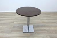 Wenge Round Table 800mm - Thumb 3