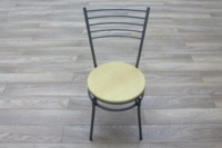 Maple Seat Office Canteen Chair - Thumb 4