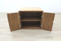 Sven Christiansen Solid Walnut Executive Office Storage Cupboard / Credenza - Thumb 3