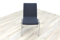 Brunner Dark Grey Fabric Meeting Chair - Thumb 2