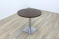 Wenge Round Table 800mm - Thumb 2