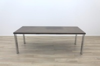 Zebrano Rectangular Office Meeting Table - Thumb 4