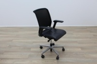 Interstuhl Black Leather Operator Chair - Thumb 5