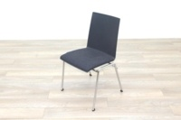 Brunner Dark Grey Fabric Seat Meeting Chair - Thumb 3