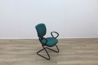 Green Fabric Meeting Chairs - Thumb 6