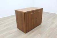 Sven Christiansen Solid Walnut Executive Office Credenza / Storage Cupboard - Thumb 4