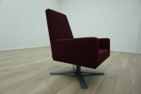 Hitch Mylius hm44 A Burghundy Office Reception Chair - Thumb 4