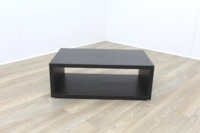 Executive Walnut Rectangular Coffee Table - Thumb 4