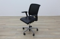 Interstuhl Black Leather Operator Chair - Thumb 3