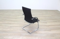Ahrend Black Fabric High Back Office Meeting Chairs - Thumb 7