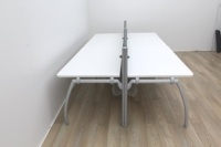 Senator Bench Desk With Grey Screens Available For 4 Persons And 6 Persons  - Thumb 3