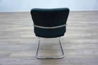 Blue Fabric Cantilever Office Meeting Chairs - Thumb 5