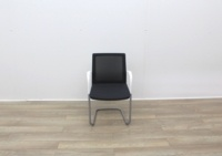 Orangebox Meeting Chair With Black Fabric - Thumb 3
