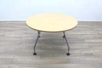 Vitra Adhoc Maple Round Coffee Table - Thumb 2