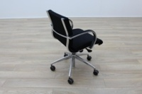 ICF Black Fabric Executive Office Task Chairs - Thumb 7