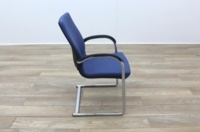 Ahrend Blue Fabric Meeting Chair - Thumb 6