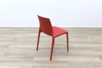 Brunner Red Polymer Canteen Chair - Thumb 7