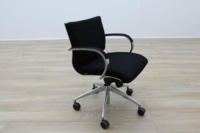 ICF Black Fabric Executive Office Task Chairs - Thumb 4