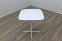 Brunner White Square Coffee Table - Thumb 2