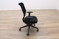Senator Fuse Black Mesh Multifunction Office Task Chair - Thumb 5