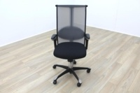 HAG H09 Inspiration Black Fabric Executive Office Task Chair - Thumb 3