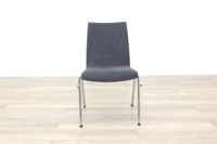 Brunner Grey Velour Meeting Chair - Thumb 4