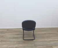 Grey Meeting Chairs With Black Frame - Thumb 5