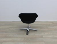 Black Fabric Kusch Co Volpe Meeting Chairs - Thumb 4