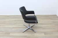 Brunner Grey Leather Executive Meeting Chair - Thumb 6