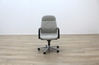 Wilkhahn FS Line Grey Leather Executive Office task Chair - Thumb 4