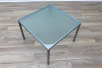 Frosted Glass Square Office Coffee Table - Thumb 4
