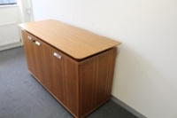 Walnut Verco Executive Office Storage / Credenza Cupboard - Thumb 5