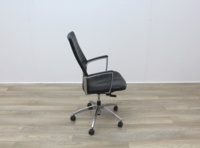 Black Leather Operator/Executive Chairs - Thumb 7