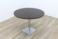 Dark Walnut Round Table 1000mm - Thumb 2
