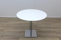 White Round Table 900mm - Thumb 3