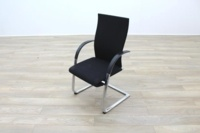 Ahrend Black Fabric High Back Office Meeting Chairs - Thumb 3