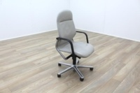 Wilkhahn FS Line Grey Leather Executive Office task Chair - Thumb 3