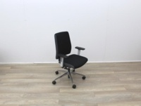 Senator Operator Chairs With White Back And Fabric Seat - Thumb 6