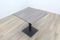Brunner Smoked Walnut Square Table - Thumb 2