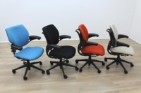 Recovered Humanscale Freedom Office Task Chairs - Thumb 4
