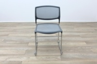Daylight Grey Mesh Canteen Chair Made in US - Thumb 4