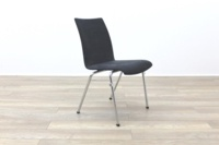 Brunner Grey Velour Meeting Chair - Thumb 6