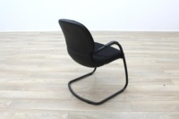 Steelcase Strafor Black Fabric Office Meeting Chairs - Thumb 6