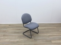 Grey Meeting Chairs With Black Frame - Thumb 6