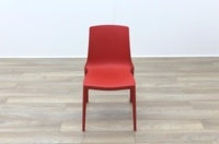 Brunner Red Polymer Canteen Chair - Thumb 4